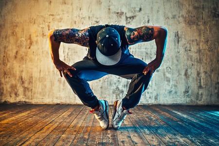 danseur , casquette, pointe de pied
